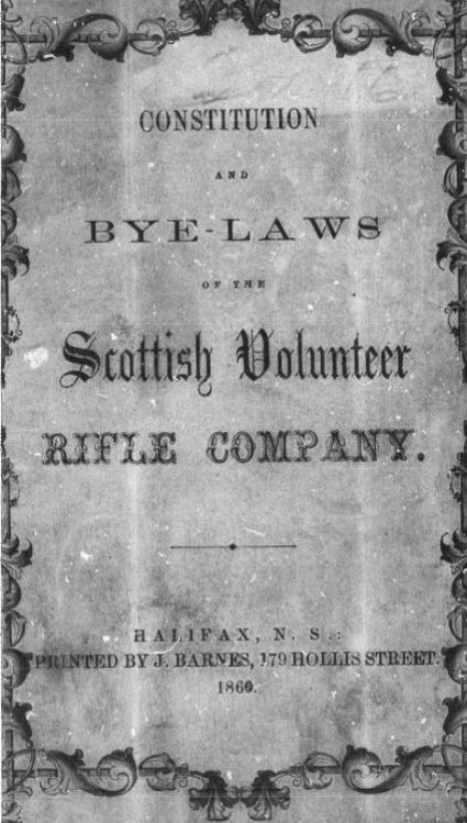 Constitution an bylaws